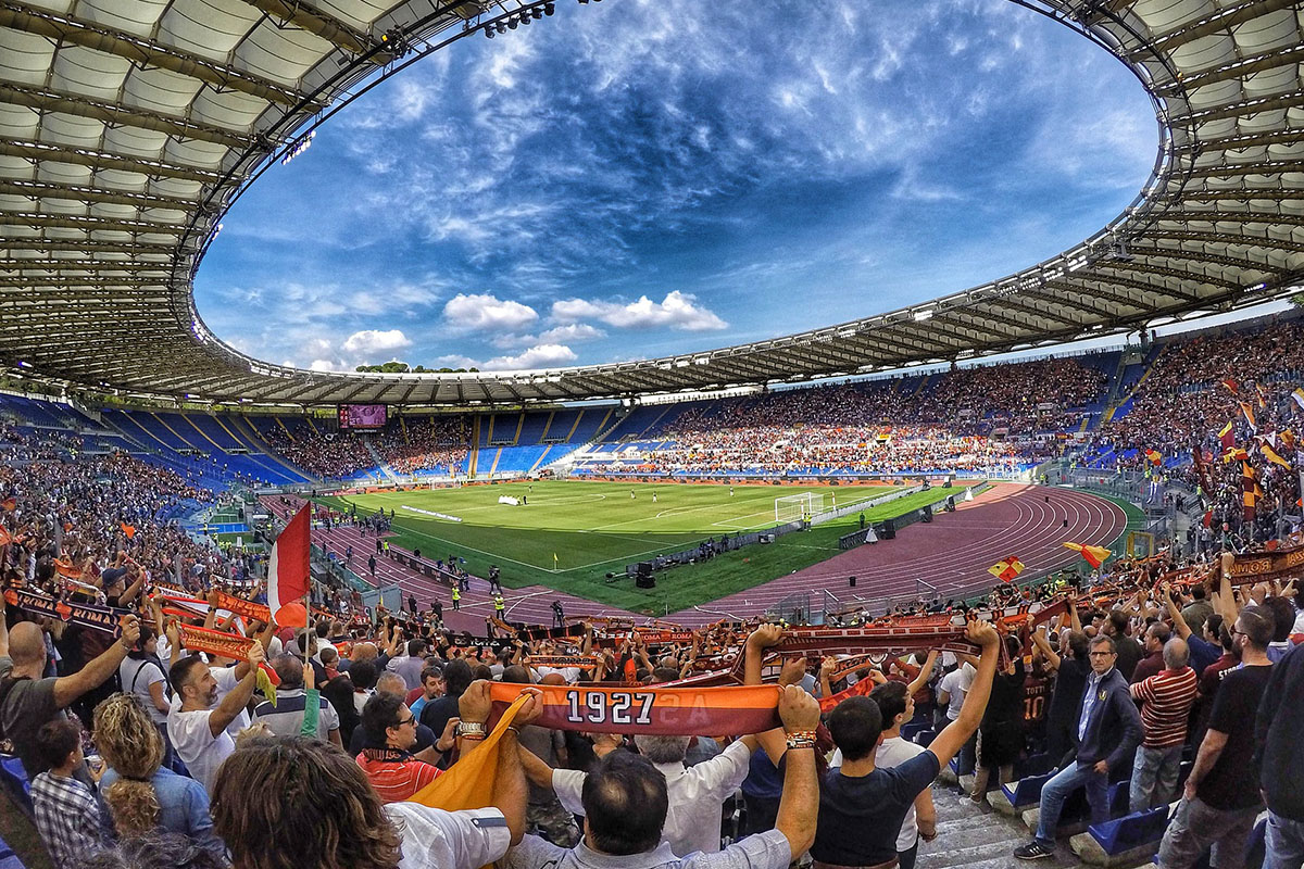 Olympisch stadion in Rome