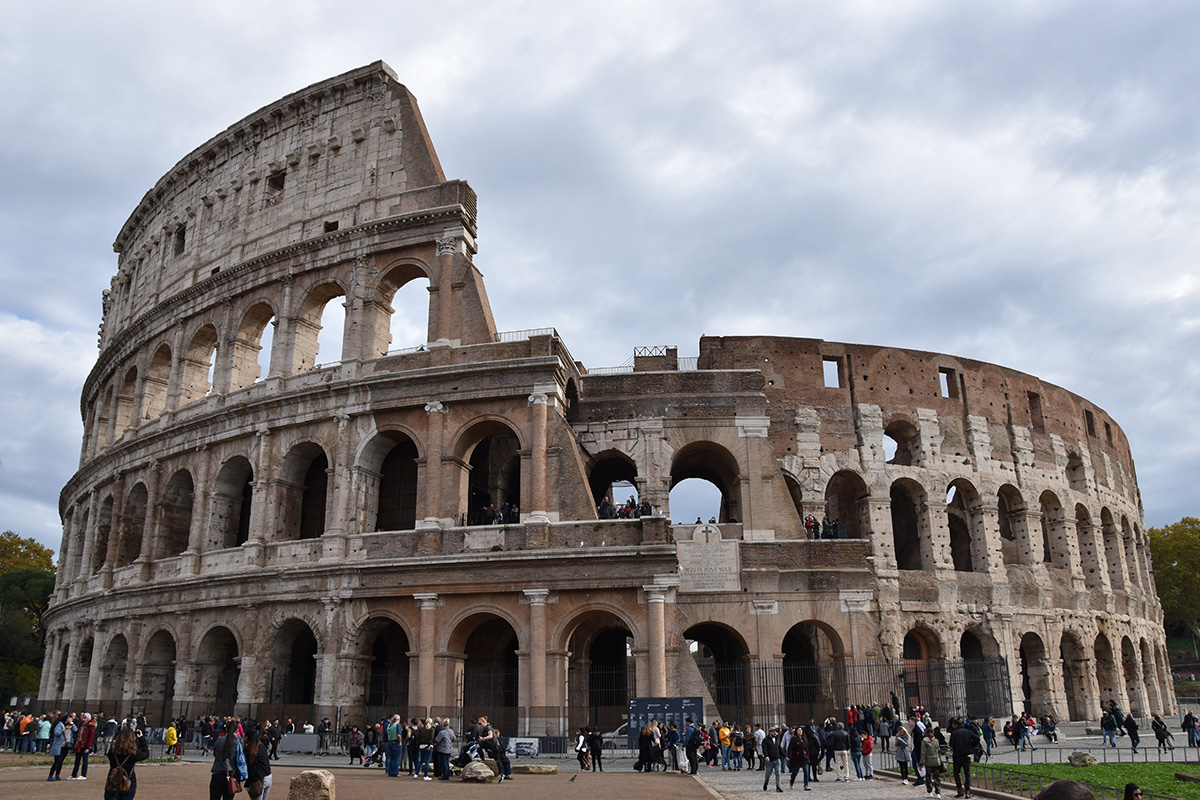 Het Colosseum in Rome