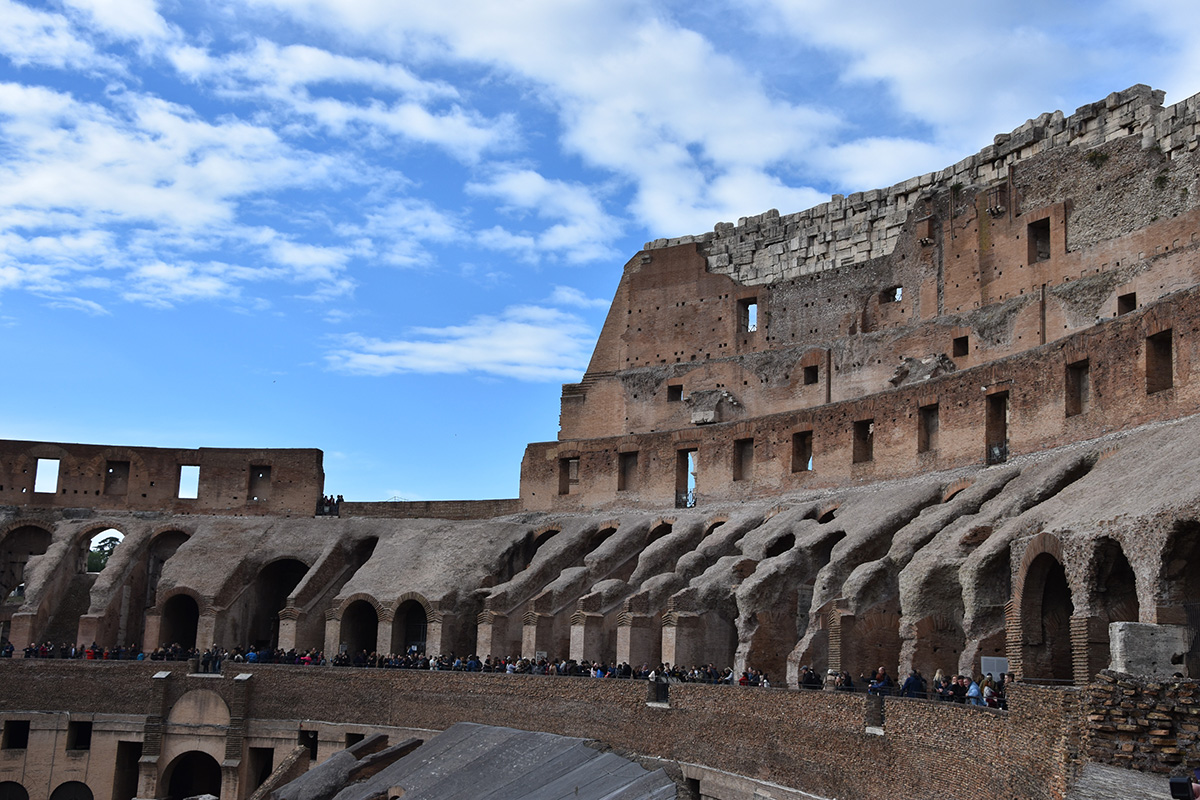 Skip the line tickets voor het Colosseum in Rome