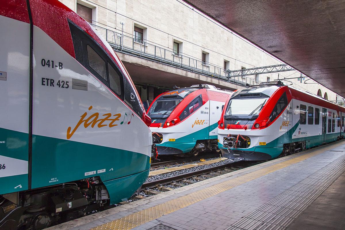 De Leonardo Express trein in Rome