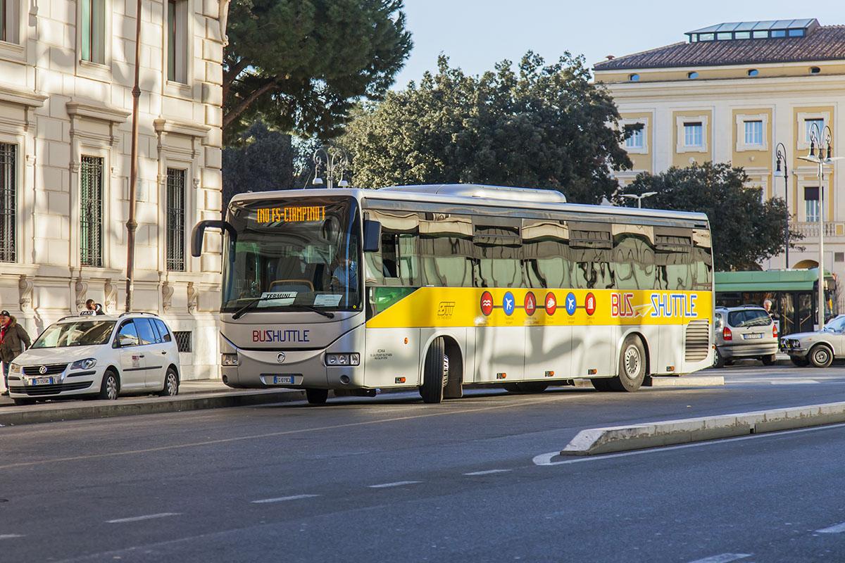 Rome vliegveld transfer Fiumicino Airport naar centrum Rome