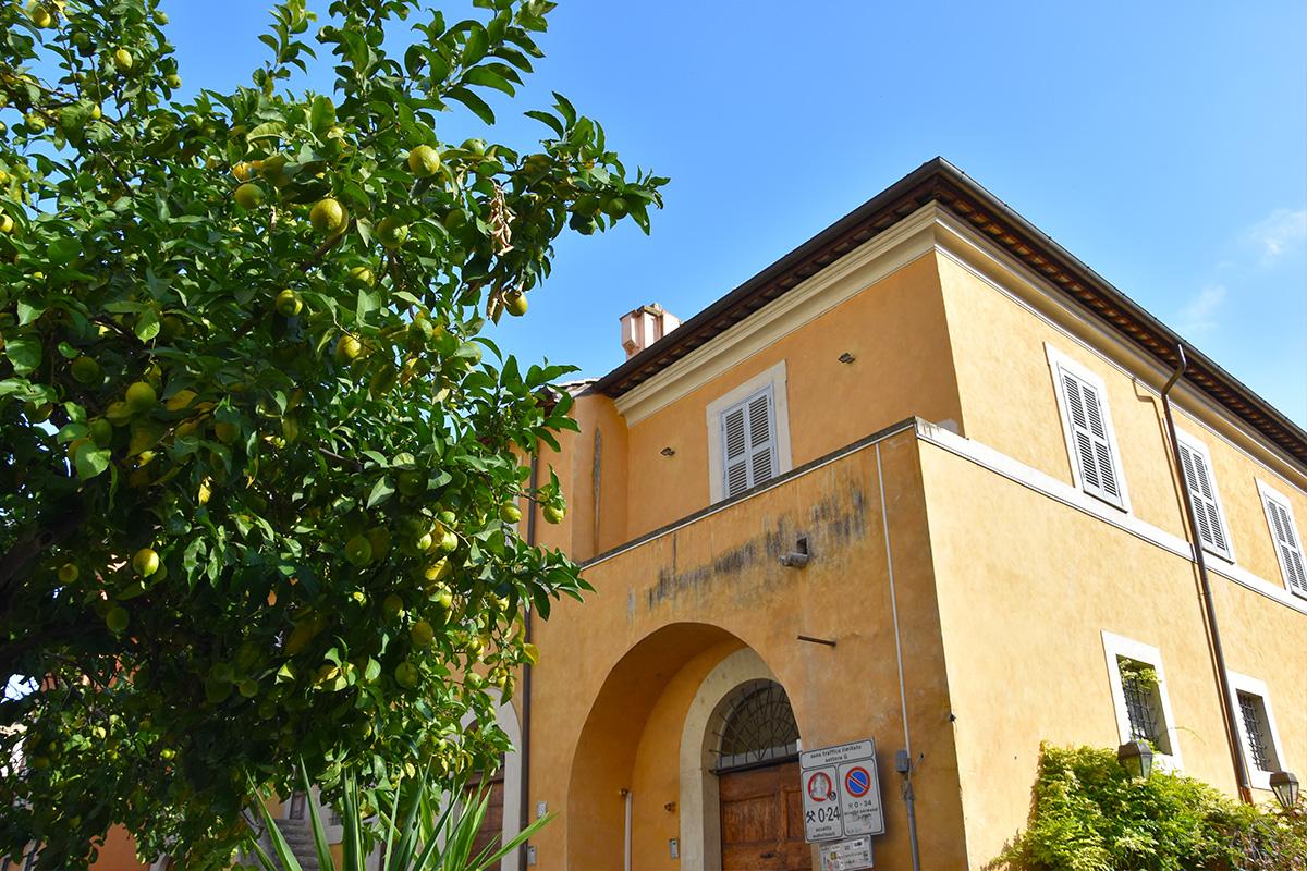 De wijk Trastevere in Rome