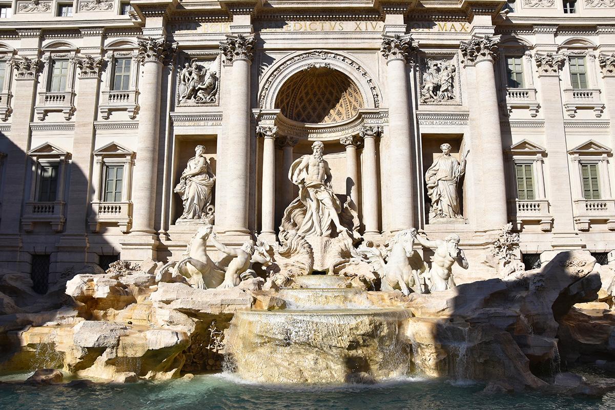 De Trevifontein in Rome
