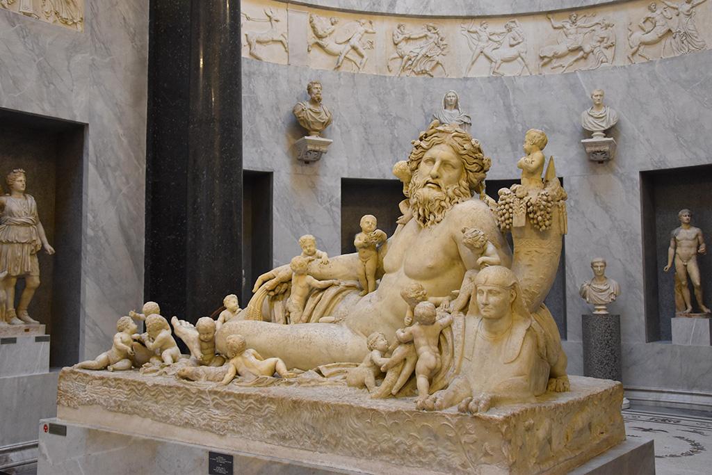 De Vaticaanse Musea in Rome